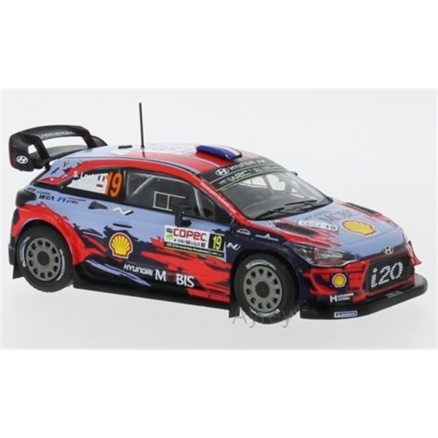 Hyundai i20 WRC #19  Rally Chile 2019 S.Loeb 1/43 model car