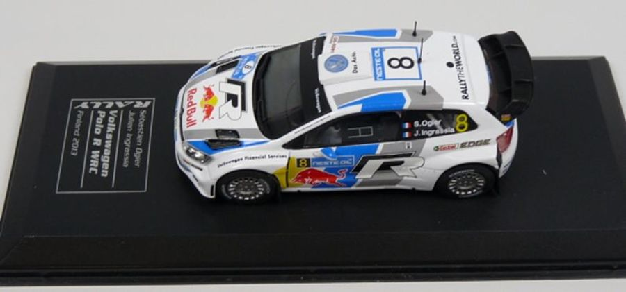 Volkswagen Polo R WRC Ogier Monte Carlo 2013 1:43  model rally car