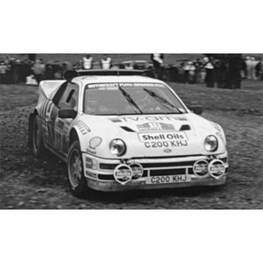 Ford RS200 #12 RAC Rally 1986 M.Lovell/ R.Freeman 1:43 model car