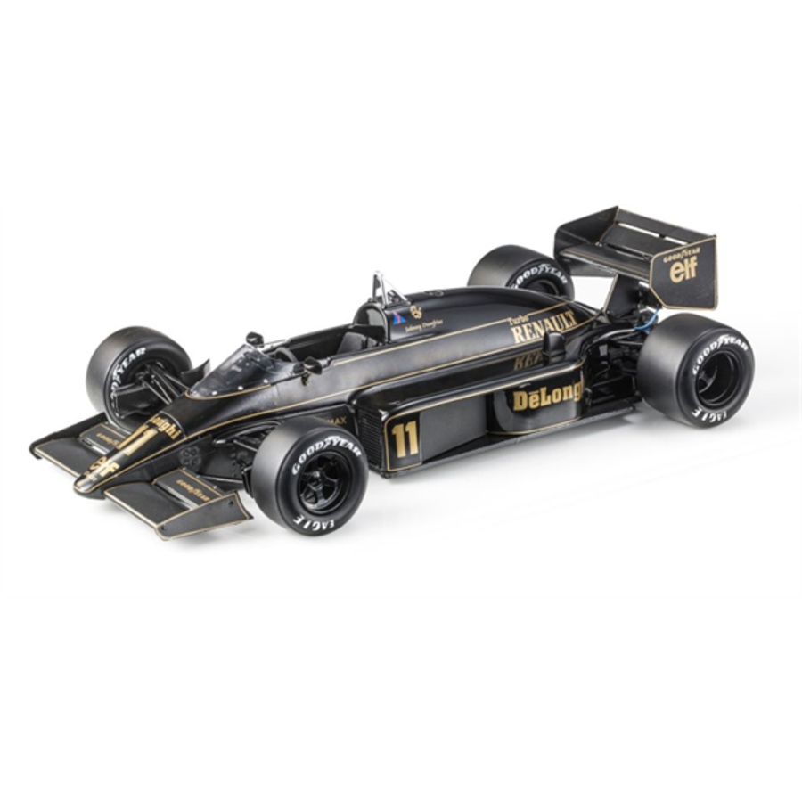 Lotus 98T JPS F1 #11 Johnny Dumfries 1/18 scale racing car