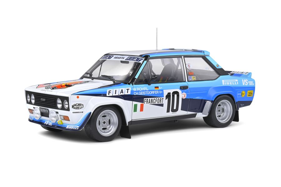 Fiat 131 Abarth – Rallye de Monte-Carlo – 1980 – #10 W.ROHRL 1/18 model car