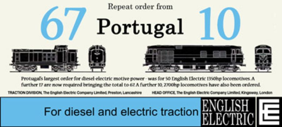 English Electric Advert Mug - Portugal