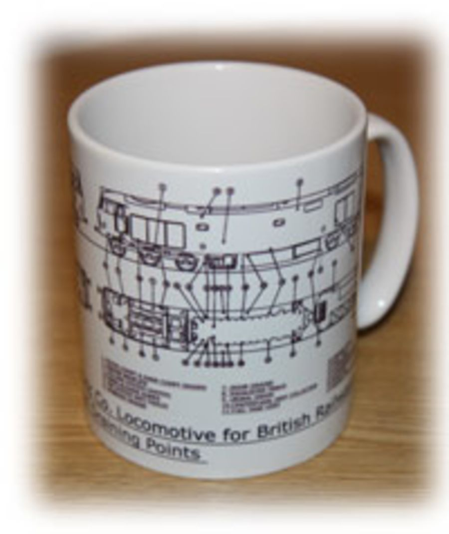 Class 50 Filling & Draining Points Mug