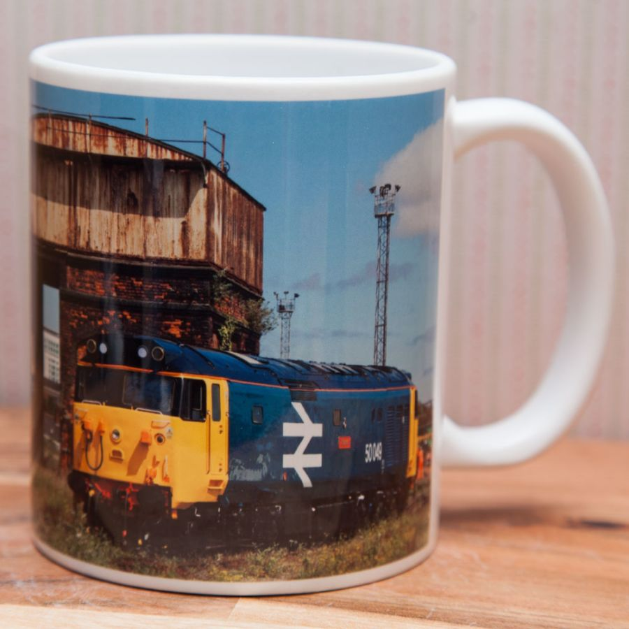 Blue 50's at Canton Mug