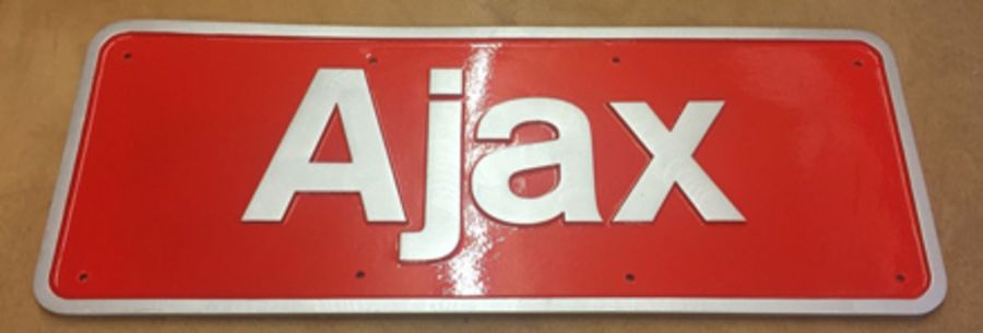 Resin Cast Nameplates - Various Names Available (Prices Vary Depending on Size)