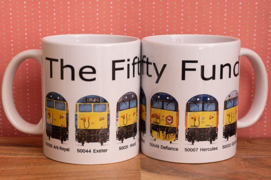 Fifty Fund Mug - 6 Loco Fronts