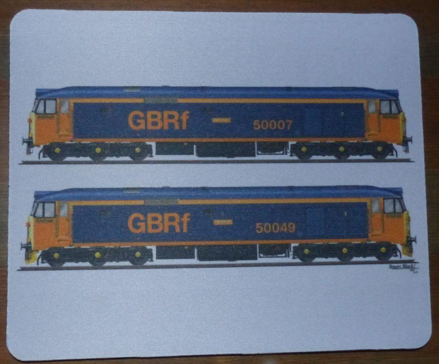 GBRF Class 50 Mousemat