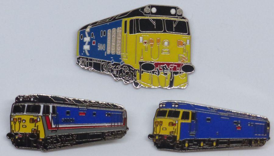 Enamel Class 50 Badges