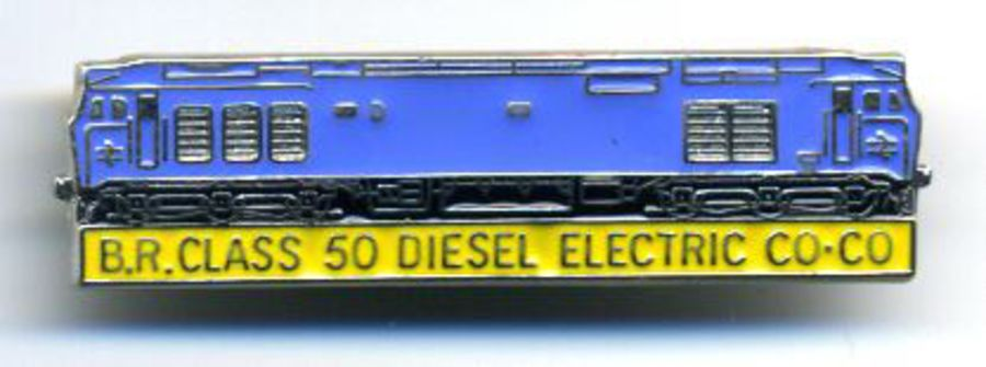Class 50 BR Blue GOM Badge