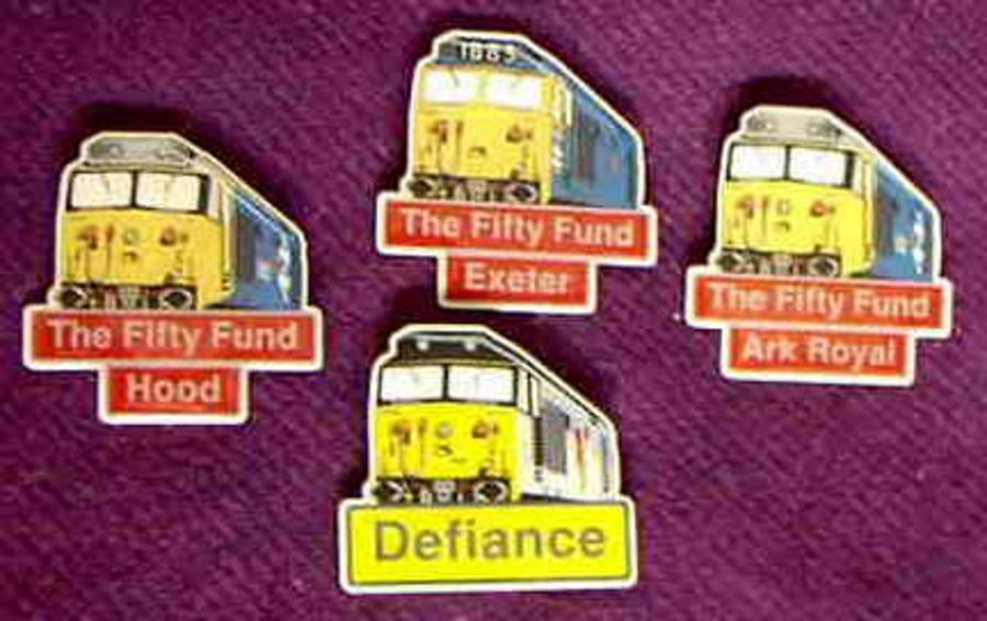 Loco Badges Set of 4 (31, 35, 44 & 49)