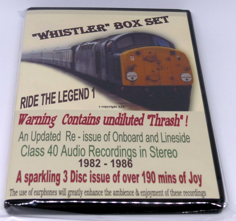 Ride the Legend 1 Class 40 (Audio CD)