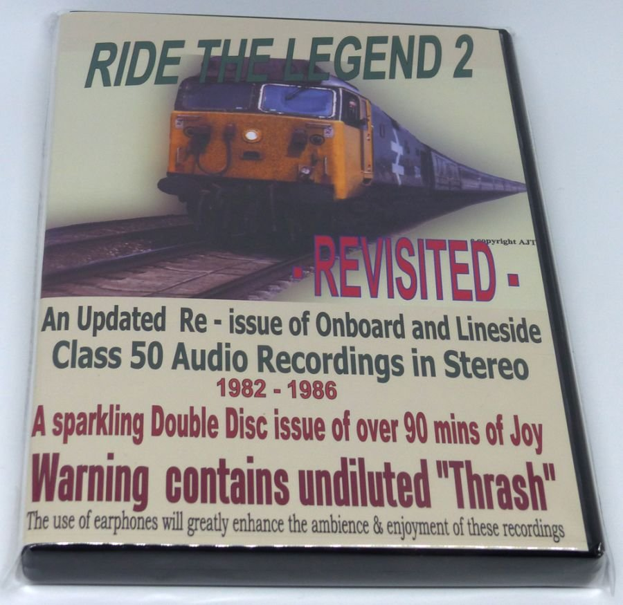 Ride the Legend 2 Class 50 (Audio CD)