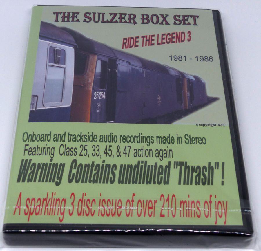 Ride the Legend 3 Sulzer (Audio CD)