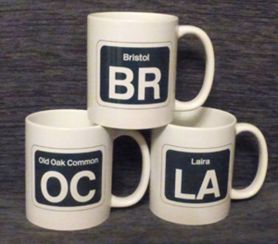 Depot Code Sticker Mugs (Wide range available)