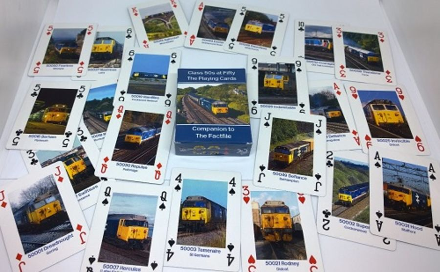 Class 50 Playing Cards