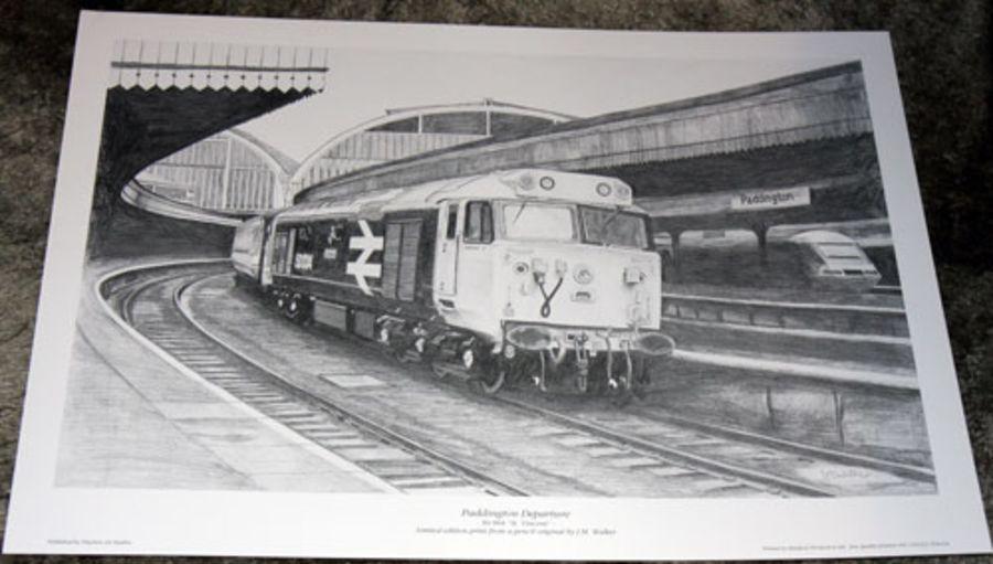 Paddington Departure - Art Print