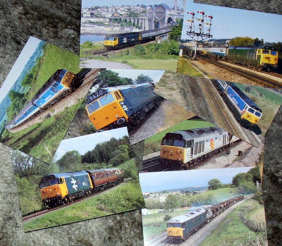 Class 50 Postcards