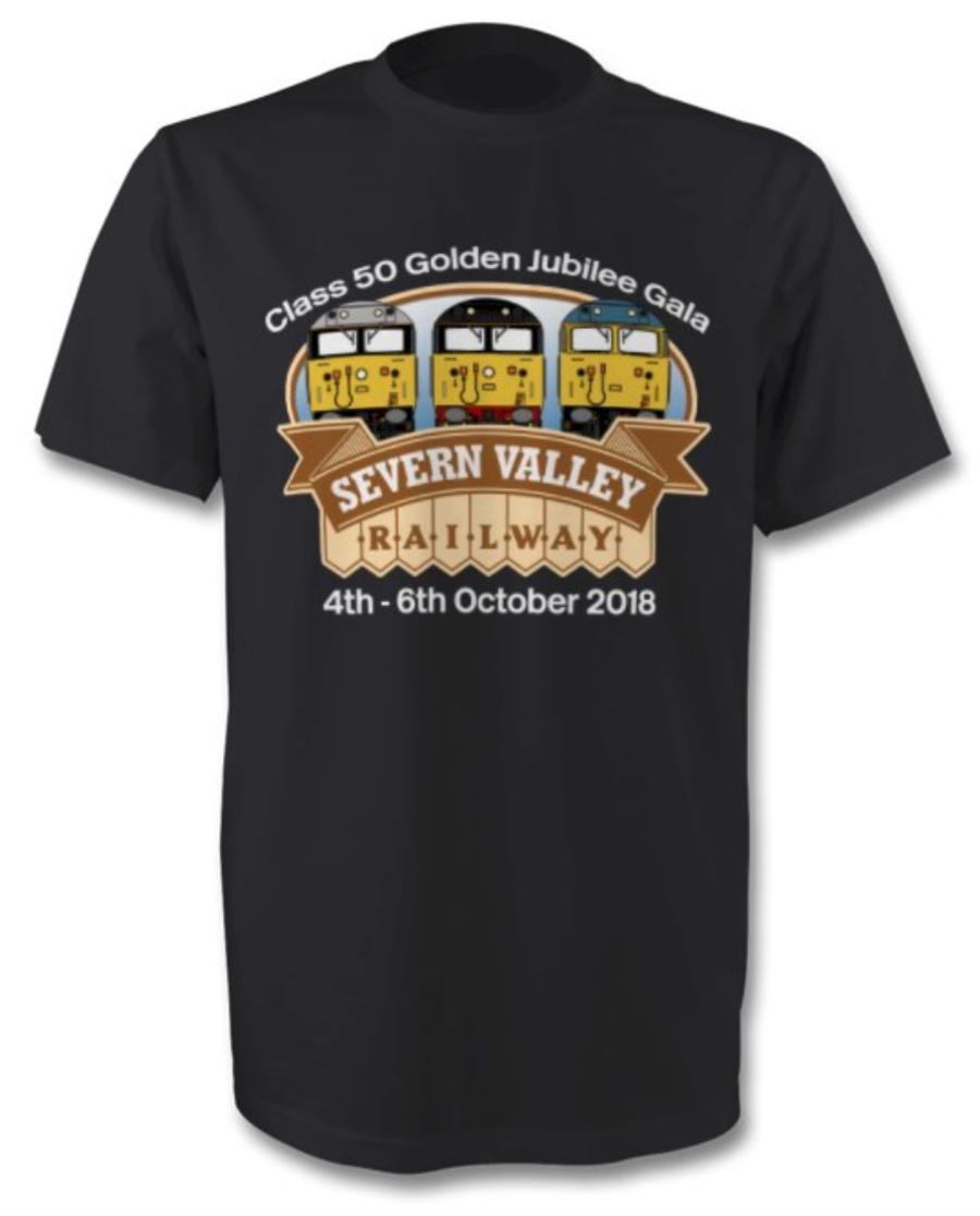 Class 50 Golden Jubilee Event T Shirt