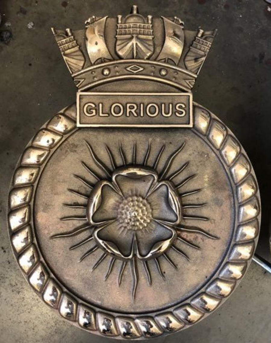 Cast Metal Crests