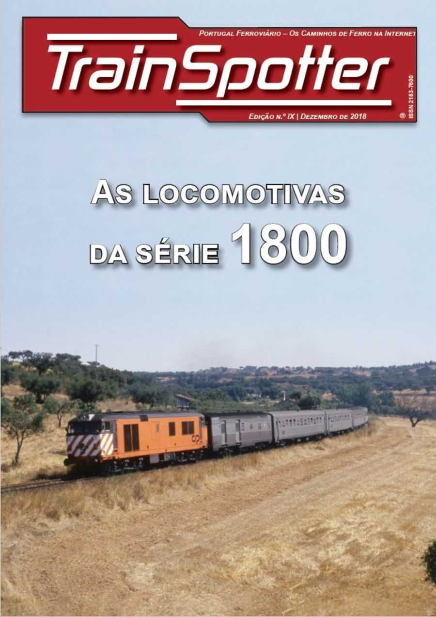 As Locomotivas Da Serie 1800 - Trainspotter Volume IX
