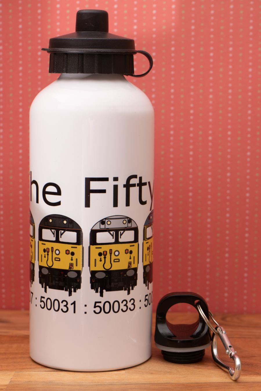Fifty Fund Water Bottle - 6 Loco Fronts
