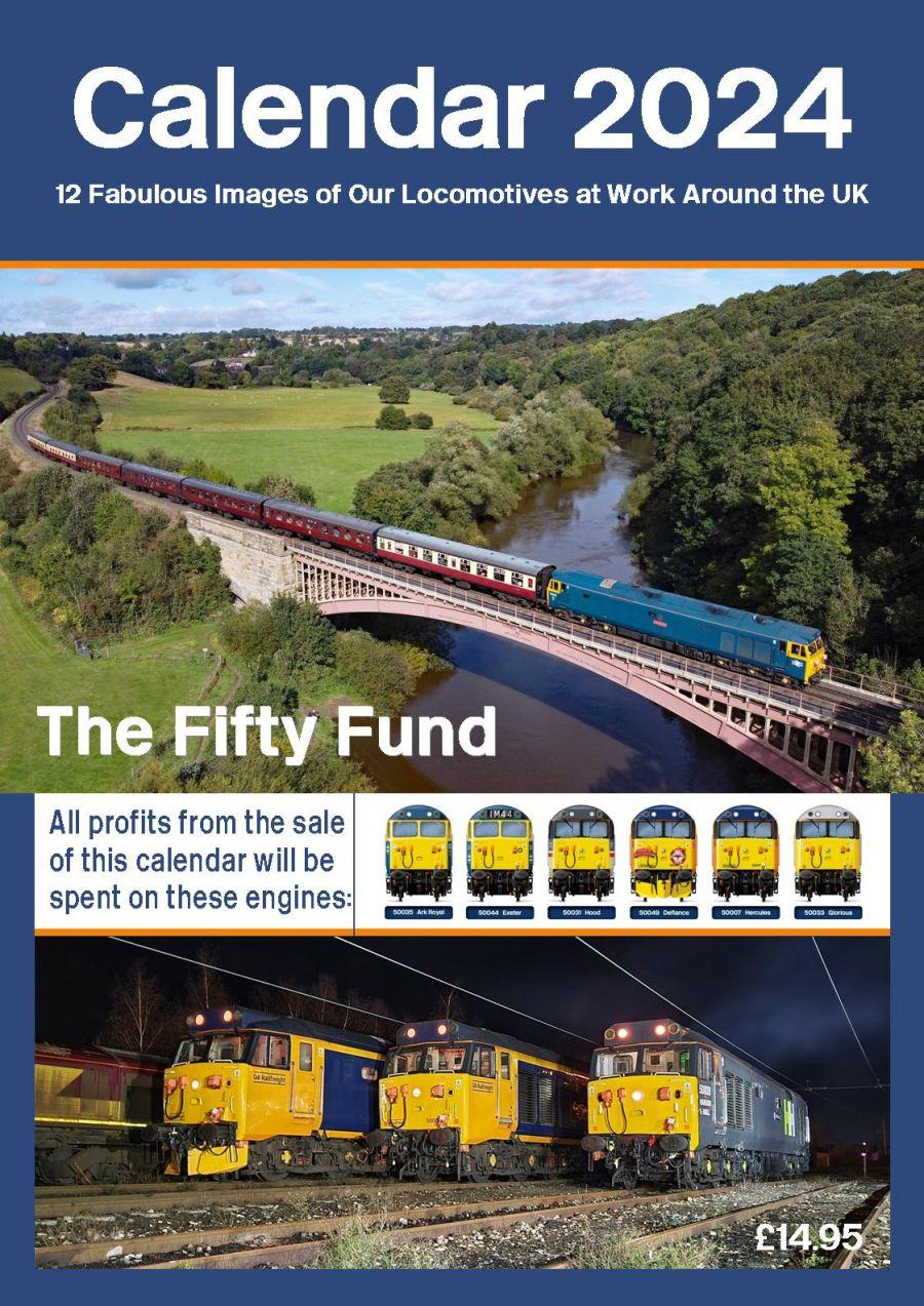 Fifty Fund 2021 Calendar