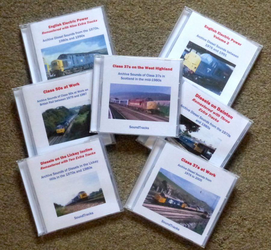 SoundTracks Audio CDs Various Locos