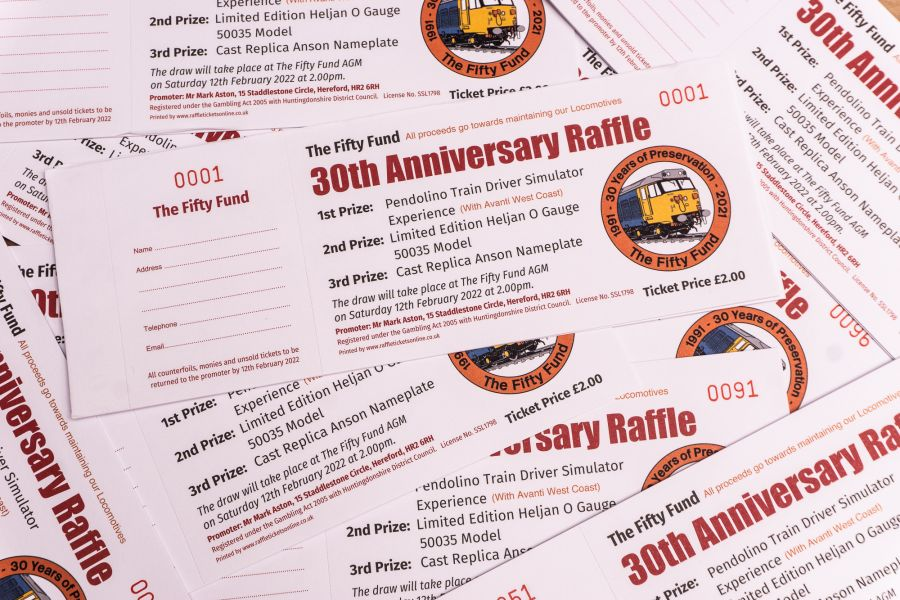 30th Anniversary Raffle Tickets