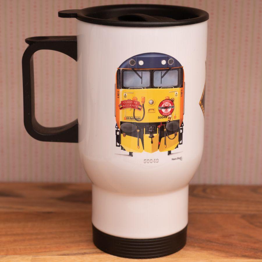 Fifty Fund Travel Mug - Loco & Crest