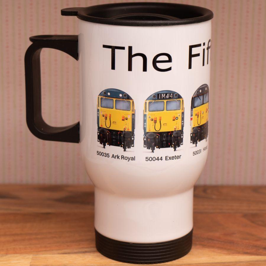Fifty Fund Travel Mug - 6 loco