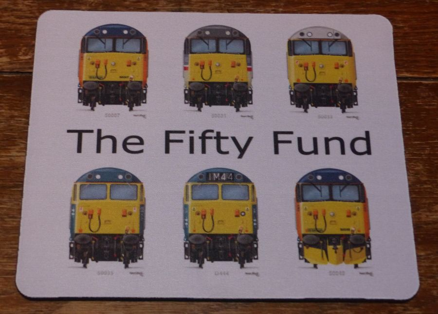 Fifty Fund Class 50 Mousemat