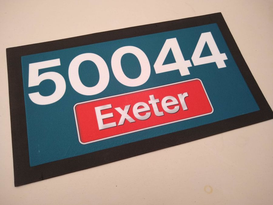 Bar Runners: Class 50 Name and Number