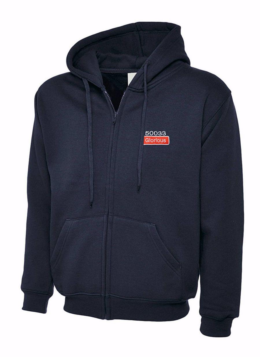 Class 50 Name & Number Full Zip Hoodies