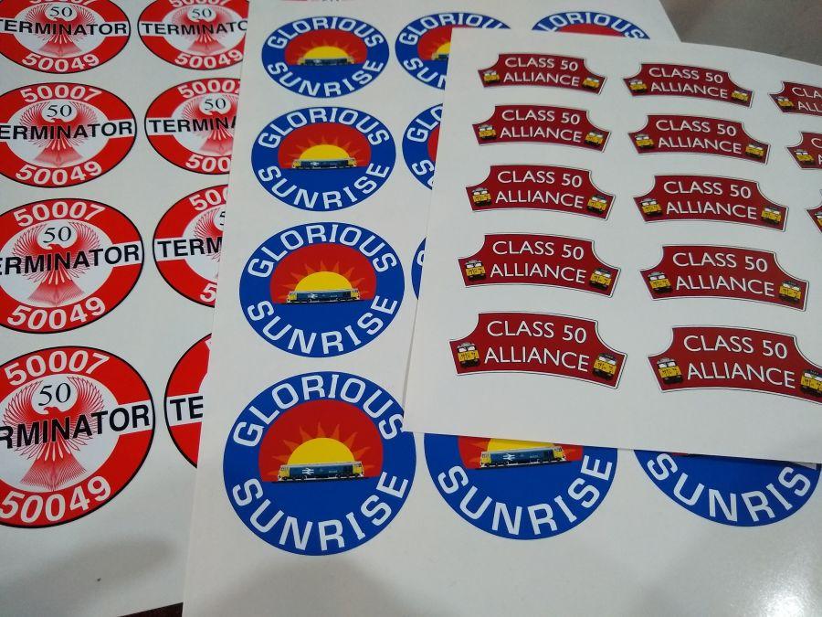 Headboard Stickers (Set of 3)