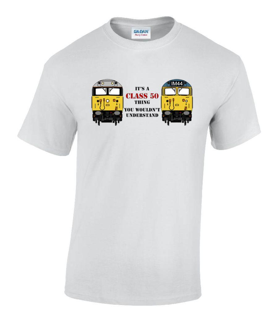 It's a Class 50 thing T shirt