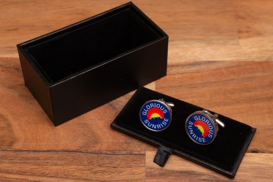 Headboard Cufflinks - Glorious Sunrise