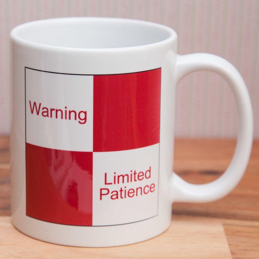 Limited Patience Mug