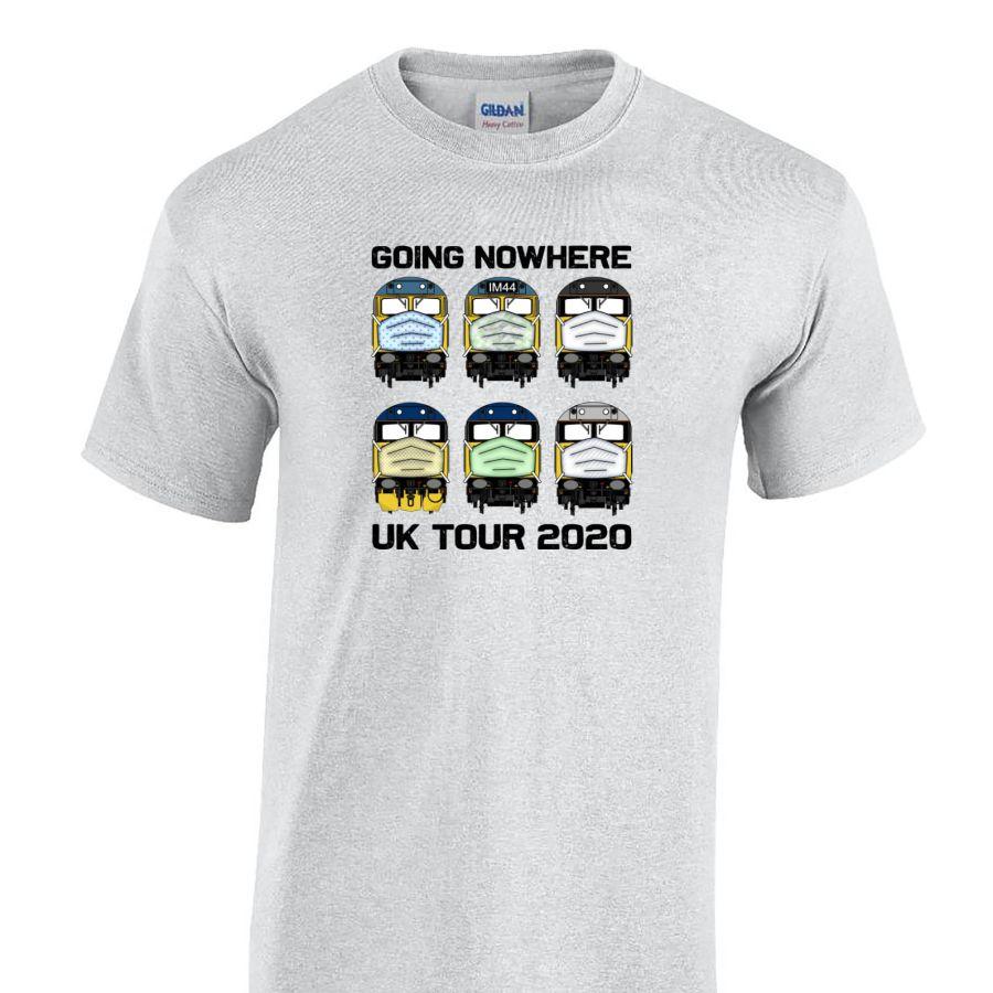 Going Nowhere UK Tour 2020 T shirt - 6 Loco design