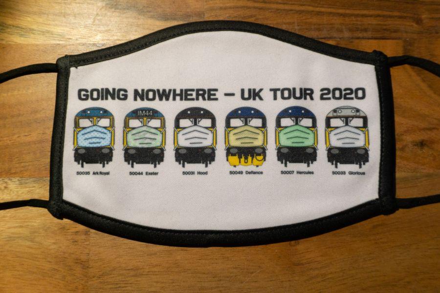 Face Mask - Going Nowhere 2020 Tour