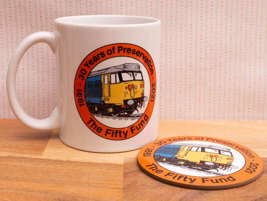 30 Years of Preservation - Mug & Coaster