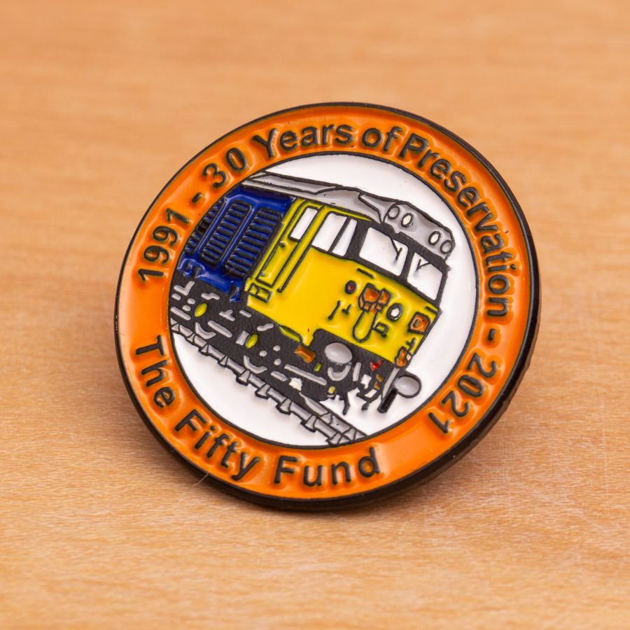 30 Years of Preservation - Pin Badge