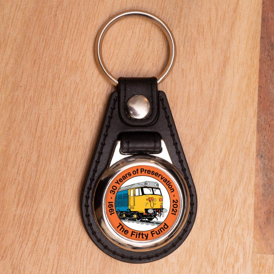 30 Years of Preservation - Leather Keyring