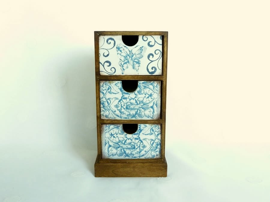 Mini Chest Of Drawers, Apothecary Cabinet, Makeup Storage Chest