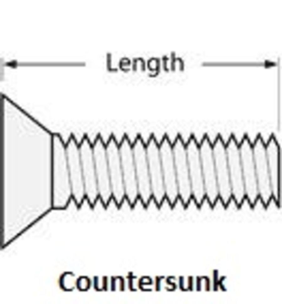 M3 Titanium Flat Head Range