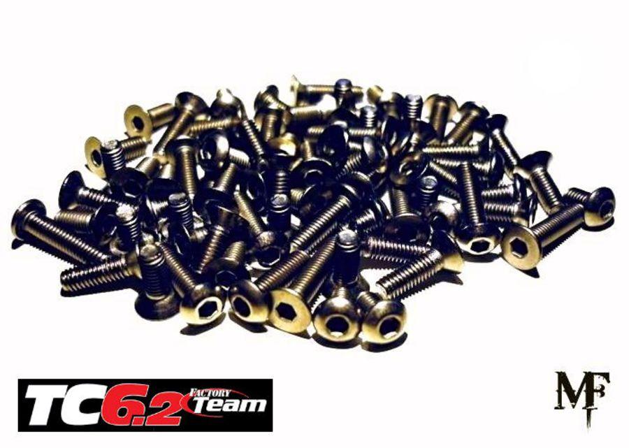TC7.2 Titanium Screw Set