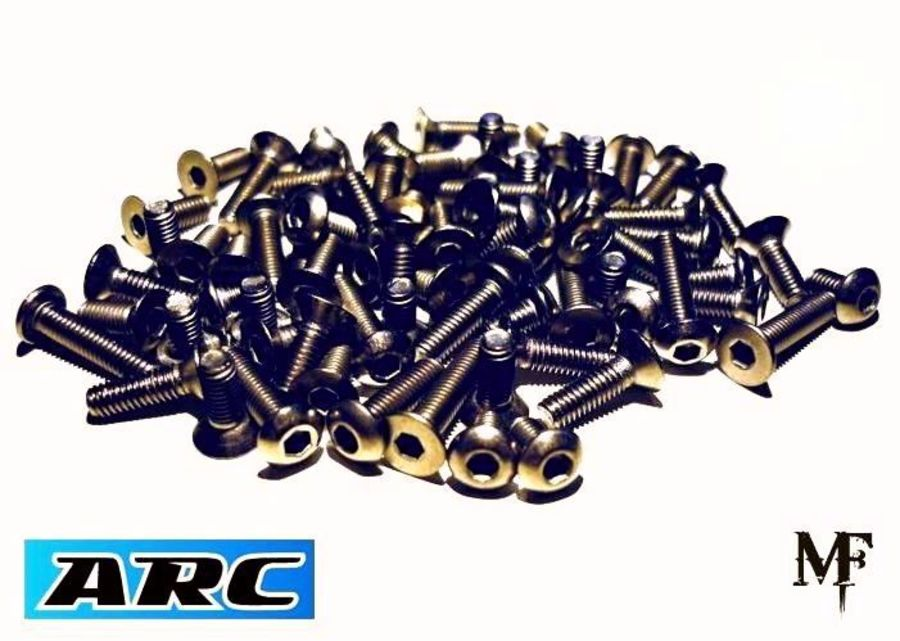 ARC R11 2019 Titanium Screw Set