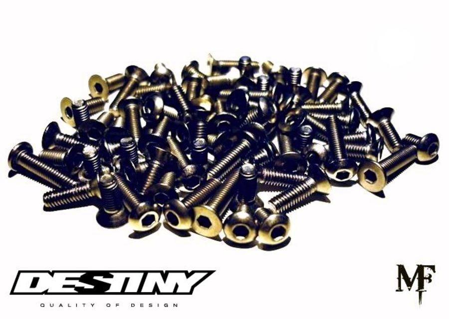 Destiny RX-10S Titanium Screw Set