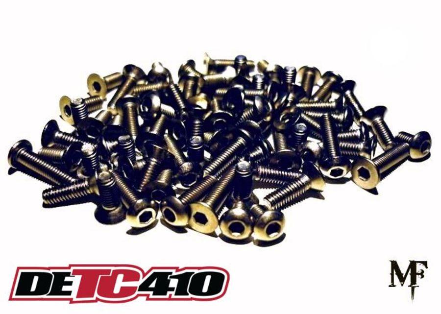 Team Durango DETC410 Titanium Screw Set