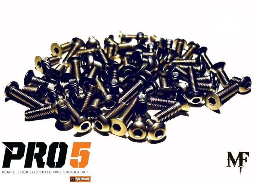HPI Pro5 Titanium Screw Set