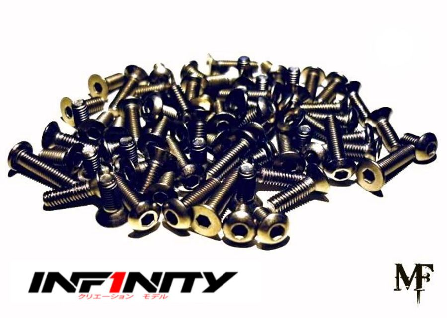 Infinity IF14 Titanium Screw Set